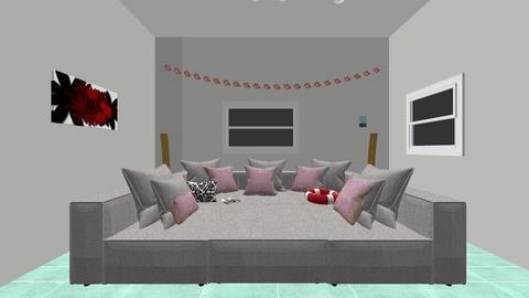 hangout  pool house - Living room  - by 21Taynas