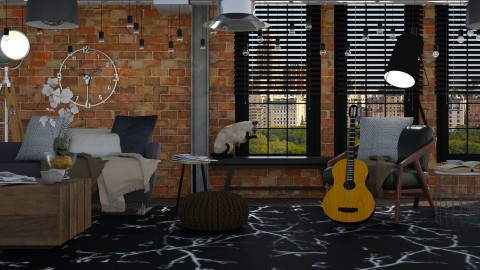 close up - Modern - Living room  - by Evangeline_The_Unicorn