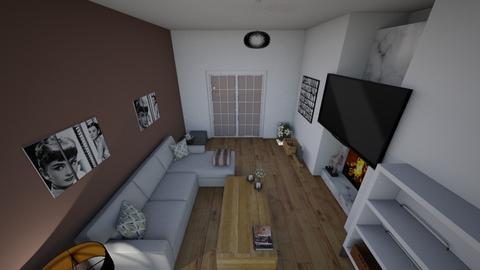 Realisitc Living - Classic - Living room  - by natalieeyauu