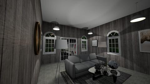 RentCabin - Classic - Living room  - by KitMit