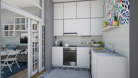 Small Apartment - Modern - Kitchen  - by katarina_petakovi