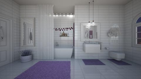 Lavender - Bathroom  - by ElenaSpr