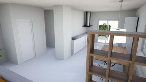 Woonkamer met trapkast - Living room - by VictordeVos