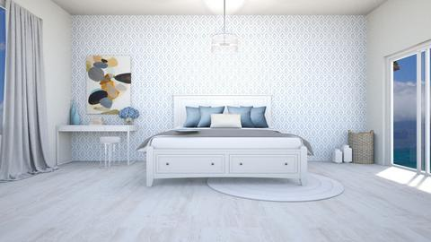 beachy bedroom - by IESdesign