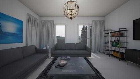 Rainy day - Living room  - by nkanyezi