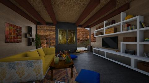 maximalist living room - Vintage - Living room  - by Savina Ivanova