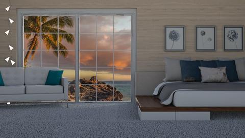 Beachyyyy Bedroom - Bedroom  - by KittyT6