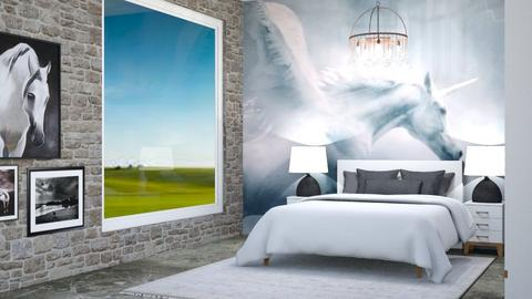 Horse Bedroom - by Horse_Lover_Mel