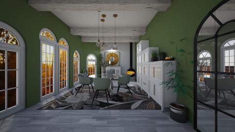 mon salon  - Living room  - by Ghoonxghost