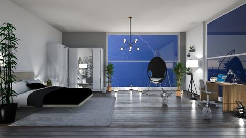 stormy day - Modern - Bedroom  - by martinini