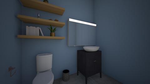 Half Bath - Bathroom  - by DesignInept2
