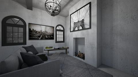 Concrete - Living room - by gmm3267