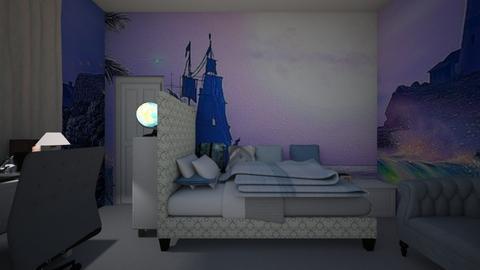 mural surround - Classic - Bedroom  - by heatherpc