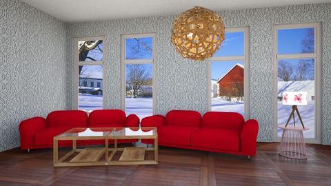 Cream - Living room  - by RoseRouge888