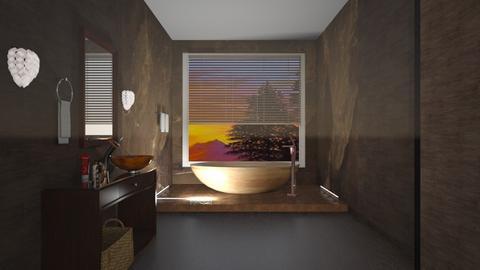 Coffee Theme - Bathroom  - by yonvie