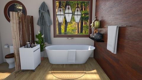Log Bathroom - Bathroom  - by nkanyezi