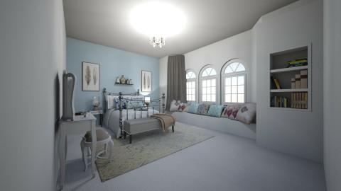 bedroom - by laurencowper