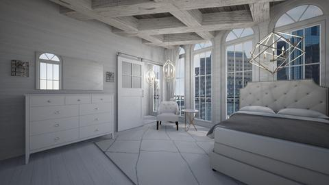white every where  - Bedroom - by heynowgregory