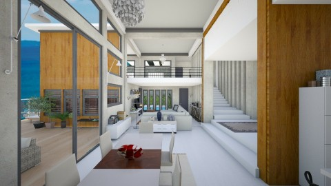 my penthouse - Living room  - by Conchy