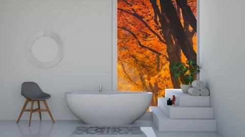 White Bathroom - Bathroom  - by ZolaKate