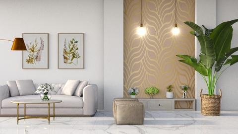 art deco living - Living room  - by jezek1