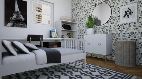 TEENAGER ROOM - Modern - Kids room  - by Nitzan Rotshild