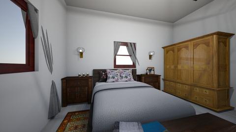 wrzosowa - Bedroom  - by katarzynatadla