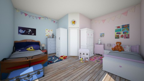 bedroom - Kids room  - by Sanja Pipercic