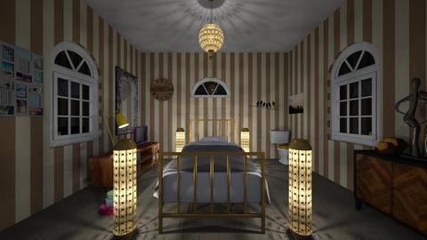 Random bedroom - by RoseRouge888