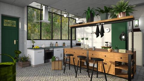 Eco Kitchen - Kitchen  - by liat simchi