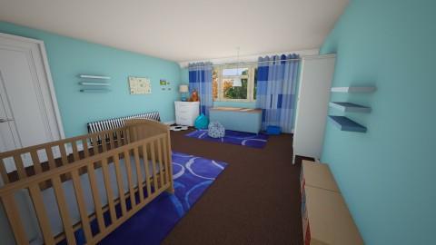 Babys Bedroom 1 - Bedroom - by Suzanne Hoskins