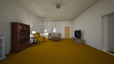 42nd Street Home - Living room  - by WestVirginiaRebel