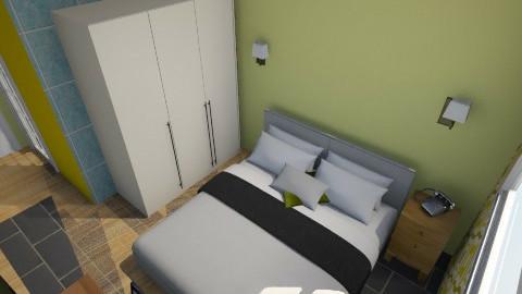 Hotel room 2 - Minimal - Bedroom  - by amarah