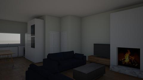 huiskamer en keuken - Living room  - by mauricevanegmond