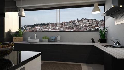 City view - Kitchen - by Inna_Inas