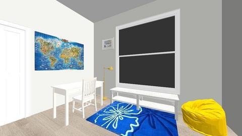 BBroom1 - Kids room  - by AJroom