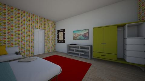 dormitor - Classic - Bedroom - by Roxi1560