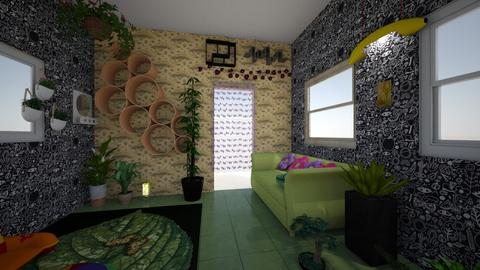 Chill Plant room - Eclectic - by moonlightxoxo