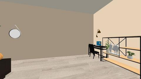 first project - Bedroom  - by lotte hubrecht