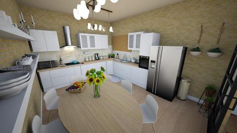 family home 136 - Modern - Kitchen  - by Stavroula Chatzina