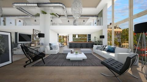 an imaginery loft - Modern - Living room  - by Evangeline_The_Unicorn