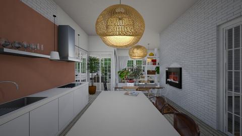 Eclectic_kitchen - Kitchen  - by lovasemoke