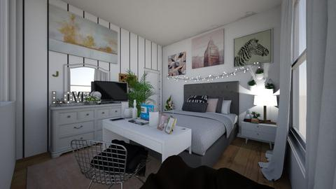 my bedroom 2019 - Minimal - Bedroom  - by JazriaJ