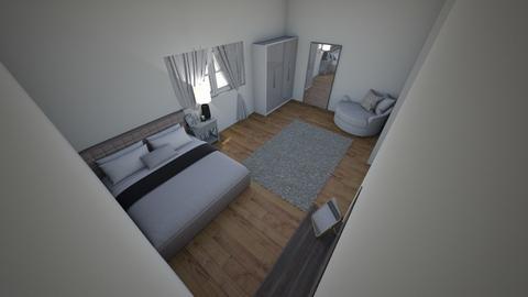 yazmins room design  - Modern - Bedroom  - by 443809