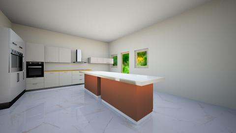 Modern farmhouse kitchen - Country - Kitchen  - by Hafsabashir