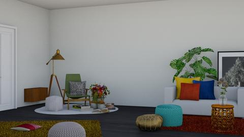 spring sun place - Modern - Living room  - by RimaNina