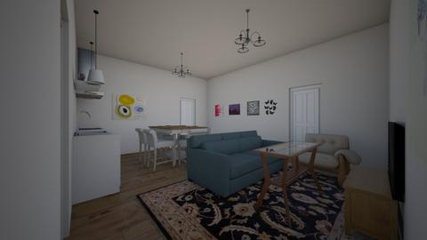Apartment - Classic - Living room - by kittytarg