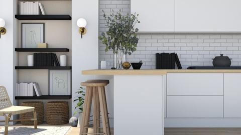 Boho kitchen - by Thepanneledroom