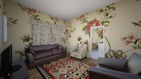 Grannys Living Room - Rustic - Living room  - by Peyton G