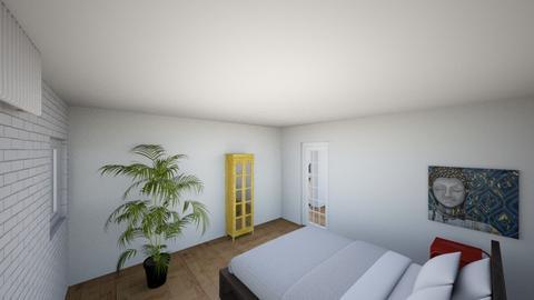 Plan poddasza 1 - Bedroom  - by gabrielasiemiaszko
